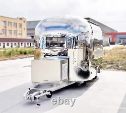 12' Mobile Food Cart Trailer Made to Order Stainless Steel Custom Food Truck