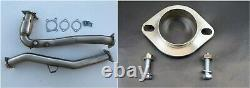 1320 J pipe & adapter for 2015- 2020 WRX Manual downpipe high flow cat HFC o2