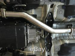 1320 J pipe for 2015-2019 WRX auto CVT downpipe high flow cat HFC o2 down-pipe
