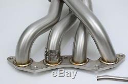 1320 PERF FAB 01-05 civic EX long tube race header D17