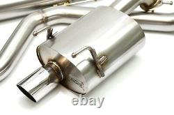 1320 PERF FAB 2.5 inch catback exhaust for 92-95 civic hatchback HB eg6