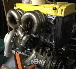 1320 PERFORMANCE B series AC compatible turbo manifold & Downpipe b16 b20 b18c