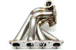 1320 PERFORMANCE B series Forward Facing turbo manifold T4 b16 b18 b20 BLEMISH