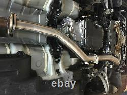 1320 Perf FOR 2015 2019 WRX auto downpipe catless 3x o2 bung automatic J pipe