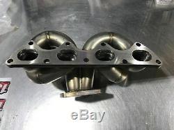 1320 Performance D series turbo manifold AC compatible T3 D15 D16 D16z6 Blemish