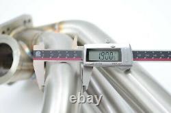 1320 Performance K- DRAG T4 60mm wastegate K20 k24 turbo manifold sidewinder T3