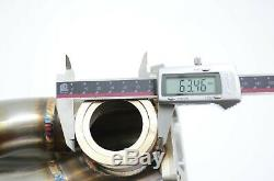 1320 Performance K20 k24 turbo manifold sidewinder T3 T4 flange Vband wastegate