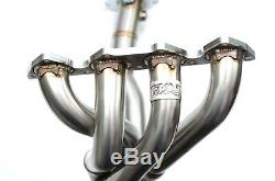 1320 Performance Toda header Testpipe B Series ported tig welded extra o2 GSR