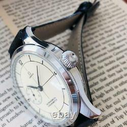 1900's OMEGA Antique Men's Custom Converted Watch White Manual winding 48mm