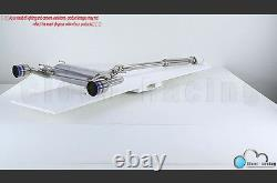 2013-2020 Stainless Dual Burn Tip Catback Exhaust For Scion FRS GT86 Subaru BRZ