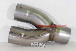 5 / 5 Y Pipe Stainless Steel Universal Custom Performance Exhaust Diesel