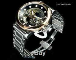 52MM Invicta Russian Diver GHOST BRIDGE AUTOMATIC ROSE TONE WithCustom Bracelet