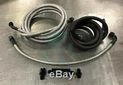 96-00 Honda Civic EK Coupe Tucked Stainless Steel Fuel Line System -6 K Tuned
