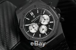 Audemars Piguet 41mm Royal Oak Chronograph Black PVD/DLC 26320ST. OO. 1220ST. 02