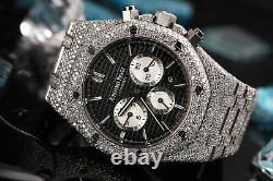Audemars Piguet Royal Oak Chronograph 41mm 26331ST. OO. 1220ST. 02 Fully Iced Out