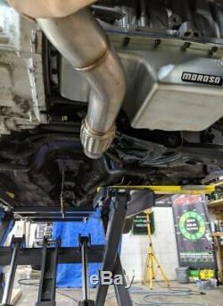 B series 3 V band Downpipe 1320 Performance top mount Turbo manifold B16 b18c