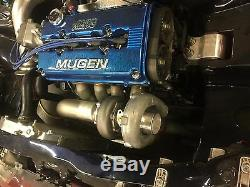 B series 4 bolt Downpipe for 1320 Performance top mount Turbo manifold B16 b18c