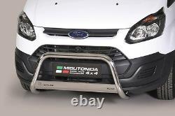 BULL BAR NUDGE BAR for Ford Transit Custom 2013 UP Ø 63 mm A BAR EC APPROVED