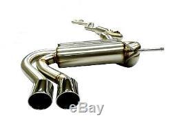 Becker Catback Exhaust For 05-13 BMW 325 & 07-13 328 E90/E92 Series Engines 4Pcs