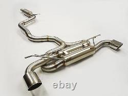 Becker Exhaust Catback System For 2015 to 2020 GTi MK7 2.0L Turbocharged