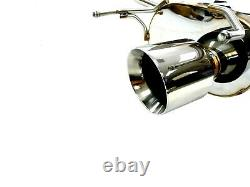 Becker Performance Axle-Back Dual Exhaust System For 2006-13 Lexus IS250/ IS350