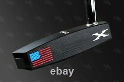 CUSTOM Titleist Scotty Cameron Futura Phantom X 5 USA Edition Golf Putter