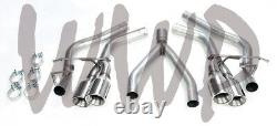 Cat Back Exhaust Muffler Pipe Kit For 14-20 Jeep Grand Cherokee 3.0L EcoDiesel