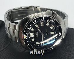 Custom 6105 Dial Diver Turtle Mod Seiko NH35 Movt Sapphire Captain Willard