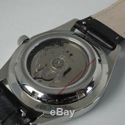Custom Automatic Mod Datejust Style Homage Yobokies Dagaz Gray Seiko NH35 movt