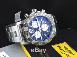 Custom Breitling A7338710-BB49-SS 44MM Colt II Chronograph With 1.50 Ct Diamond