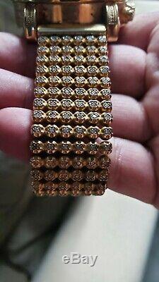 Custom Joe Rodeo Mens Diamond Watch 10.5ct