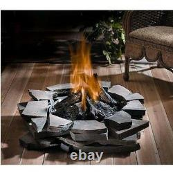 Custom Outdoor Fire Pit Natural Gas or Propane 60,000 BTU Stainless Steel