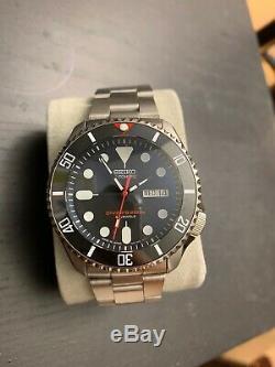 Custom Seiko SKX007J1 Diver 200m Automatic