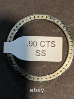 Custom Stainless Steel Diamond Bezel For 31 MM MID Size Rolex