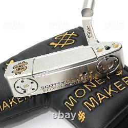 Custom Titleist Scotty Cameron 2018 Newport 2 Gold Cash Edition Golf Putter