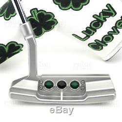 Custom Titleist Scotty Cameron 2018 Select Newport 2 Shamrock Clover Golf Putter