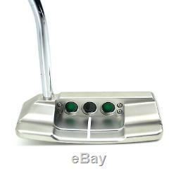 Custom Titleist Scotty Cameron 2018 Squareback Shamrock Clover Golf Putter