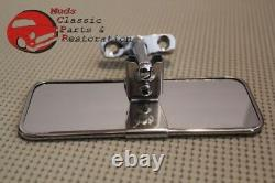 Custom Vintage Sports Car Roadster Coupe Stainless Steel Inside Rear View Mirror