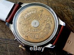 Custom-made watch with 8-days Hebdomas movement