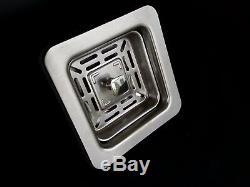 Customized 12 DEEP 22 18 Zero Radius Laundry, Kitchen Sink-2218AC-12SQST
