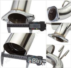 For 08+ Mitsubishi Lancer Evo X Cz4A Catback Exhaust System 4 Cat Back Dual Tip