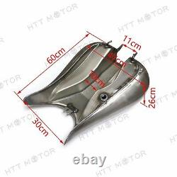 For Harley Davidson Touring 7.2 Gallon Custom Stretched Gas Tank Flh Flhr Fltr