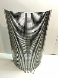 Ford Model A Custom Stainless Steel Radiator Grill / Grille Blank Insert 1928-31