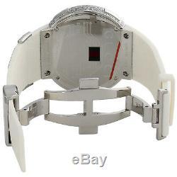 Gucci Diamond White Watch Mens Full Casing Ya114214 5 Row Custom Digital 3.5 CT