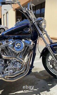 Harley CVO custom tank emblems, 3.2 mirror polished stainless steel