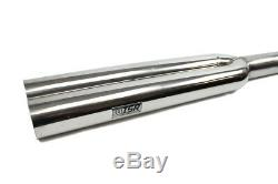ISR (ISIS) Universal 3 Inlet Blast Pipes Dual Tip 40 Length 16 to Dual 24