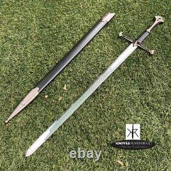 LOTR ANDURIL Medieval Knight Warrior's Lord of the Rings Sword CUSTOM ENGRAVED