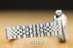 Ladies Rolex Datejust 18k White Gold Diamond Ruby & Steel Pink Dial Watch