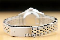 Ladies Rolex Datejust 69174 Pink Factory Diamond Dial & Steel Quickset Watch