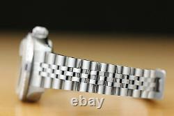 Ladies Rolex Datejust Ice Blue Diamond Sapphire 18k White Gold & Steel Watch